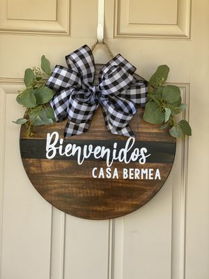 Custom home wreaths for Sale in Fort Worth, TX