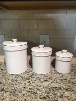 Ceramic Kitchen Canister Set for Sale in Atlanta, GA