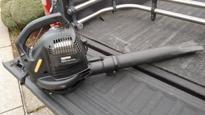Craftsman 24cc gas leaf blower works perfect like new for Sale in Beaverton, OR