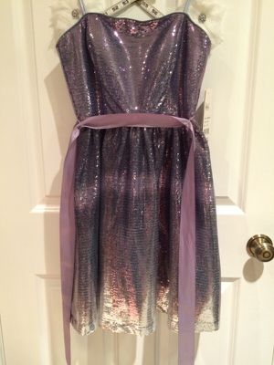 Purple/Silver Prom Dress for Sale in Snohomish, WA