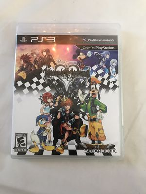 Kingdom Hearts 1.5 HD Remix for PS3 for Sale in DeSoto, TX
