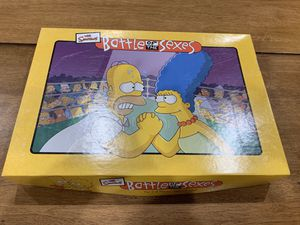 The Simpsons Battle of the Sexes Board Game 2003 Complete for Sale in Newark, CA