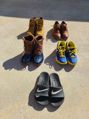 Youth shoes ( please read description for price & sizes) for Sale in Hampton, GA