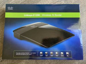 Linksys E1200 wireless N-router for Sale in Santee, CA