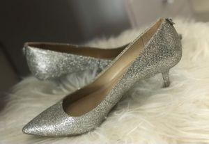 Michael Kors Silver Kitten Heel for Sale in Port Chester, NY