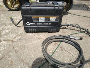 Miller suitcase X-treme 12vs welder for Sale in Federal Way, WA