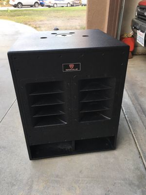 Rockville Audio 18 inch Powered Subwoofer pro audio DJ $300 for Sale in Rancho Cucamonga, CA