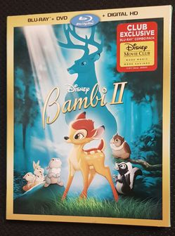 Bambi II Special blu-ray/ DVD Version Combo ( No digital copy) for Sale in El Paso,  TX
