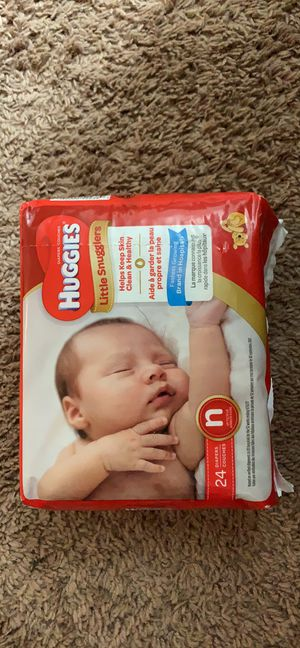Newborn diapers for Sale in North Brunswick Township, NJ