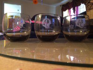 Washington Redskin Glasses for Sale in Mechanicsville, MD