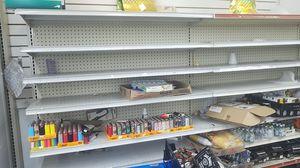 Heavy duty metal shelves gandola for Sale in Medinah, IL