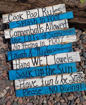 Pool rules for Sale in Mesa, AZ