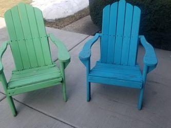 outside wood chairs for Sale in Oak Lawn,  IL