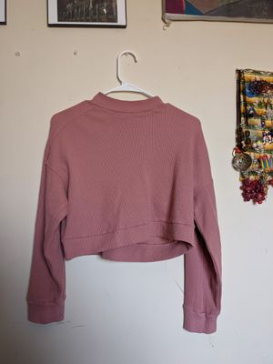 Ribbed Forever21 Dusty Pink Mock Neck for Sale in Los Angeles, CA