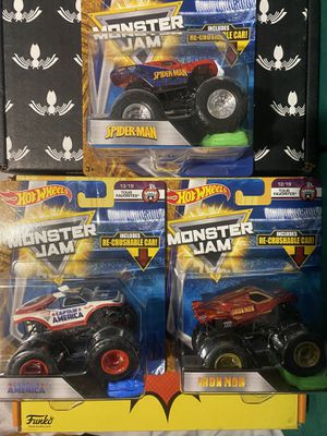 Hot Wheels Monster Jam Trucks for Sale in Estacada, OR