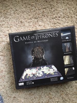 Game of thrones puzzle for Sale in Lake Oswego, OR