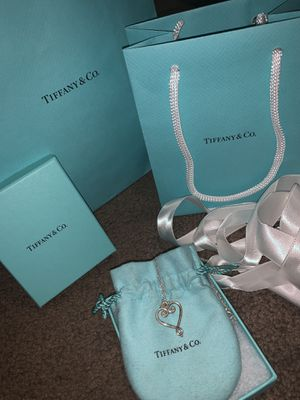 Authentic Tiffany &Co. heart necklace for Sale in Whittier, CA