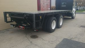"""24' x 96"""" steel flatbed with 3300lb liftgate for Sale in Menasha, WI"""