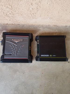 Kicker AMPS for Sale in Ontario, CA