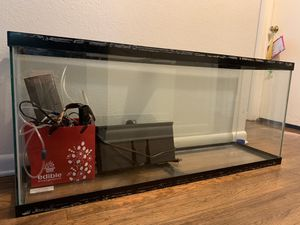 Aquarium 55 gallon fish tank for Sale in Denver, CO