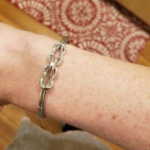 Infinity Tiffany's Bracelet 14k Gold & Diamonds for Sale in Wheat Ridge, CO