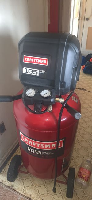 Craftsman Air Compressor 165 PSI for Sale in Inkster, MI