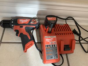 Milwaukee Drill Driver Like New for Sale in Aurora, CO