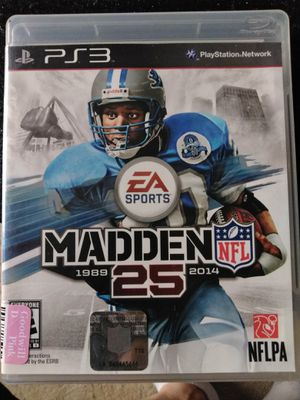 Madden NFL 25th Anniversary Edition for Sale in Albert Lea, MN