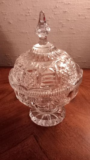 Candy Dish with Lid for Sale in Carrollton, TX