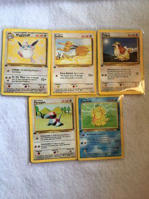 Pokémon Cards First Edition for Sale in Huntington Park, CA