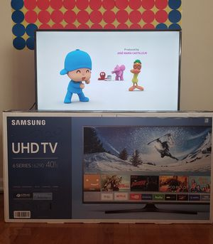 Samsung UN40KUG6290 40 INCH 4K ULTRA HD LED TV for Sale in East Rutherford, NJ