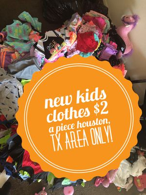 NEW! NEW! Kids clothes 18 mon -5T for Sale in Houston, TX