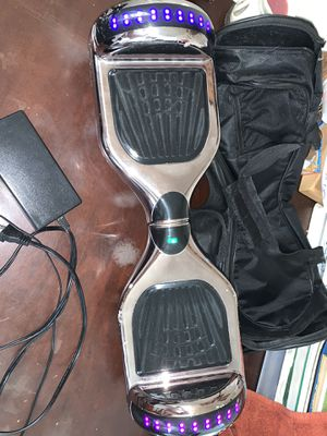 Chrome Bluetooth hoverboard for Sale in Middle River, MD
