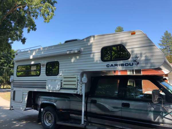 1995 Fleetwood caribou 11 ft Camper roof AC Gen Fully self contain for Sale  in Spokane, WA - OfferUp