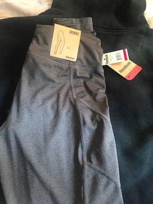 Grey Reebok skinny leggings for Sale in Riverside, CA