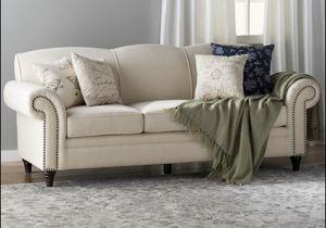 Linen Light Beige Sofa. New In Packing. Delivered for Sale in Atlanta, GA