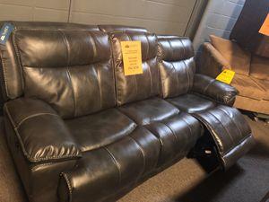 Closeout Designer Reclining Power Sofa for Sale in Nashville, TN