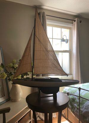 Model wooden sailboat. for Sale in Gulf Breeze, FL