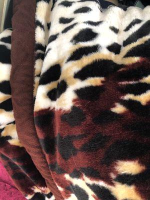 Printed Silky Soft Plush Velvet Blanket for Sale in Rancho Cucamonga, CA