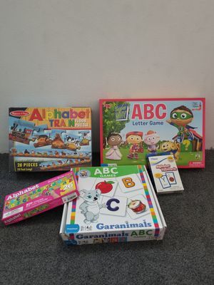 ABC Games and Puzzles for Sale in Ontario, CA