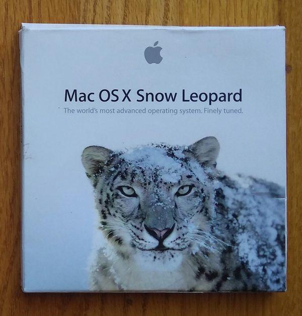 Mac OS X Snow Leopard DVD-ROM full version in original retail box