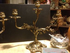 Antique art Nouveau candelabras for Sale in Fresno, CA