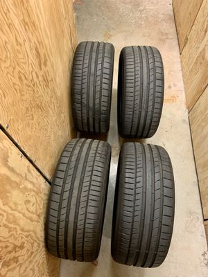2019 VW Golf R stock tires 235/35/19 (Continental ContiSportContact 5P) x4 for Sale in Seattle, WA