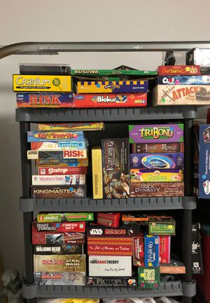 Board game lot $1 to $10 each for Sale in McKinney, TX