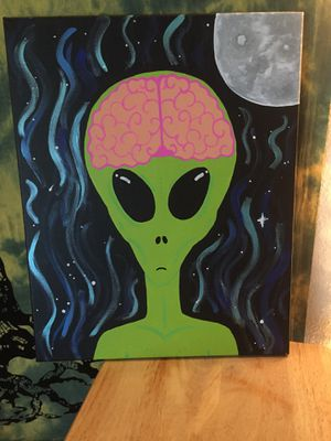 Alien Painting for Sale in Cohasset, CA