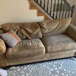 Microfiber Couch And Loveseat for Sale in Renton, WA