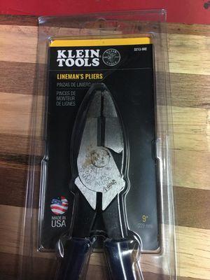 Klein lineman's pliers for Sale in Rialto, CA
