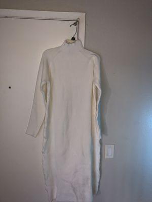 Zara long white dress size small for Sale in Riverside, CA