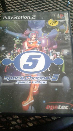 Ps2 space channels 5 for Sale in Spring Valley, CA
