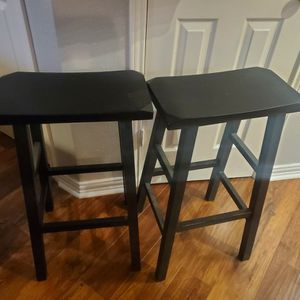 Black Wood Bar Stools for Sale in Houston, TX